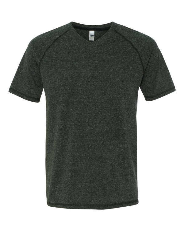 Triblend V-Neck T-Shirt-All Sport-Pacific Brandwear