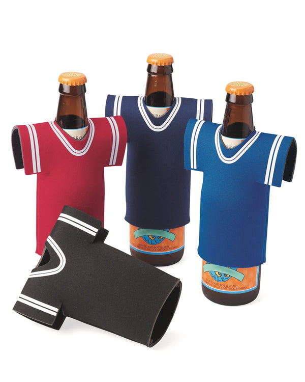 Collapsible Jersey Foam Can & Bottle Holder-Liberty Bags-Pacific Brandwear