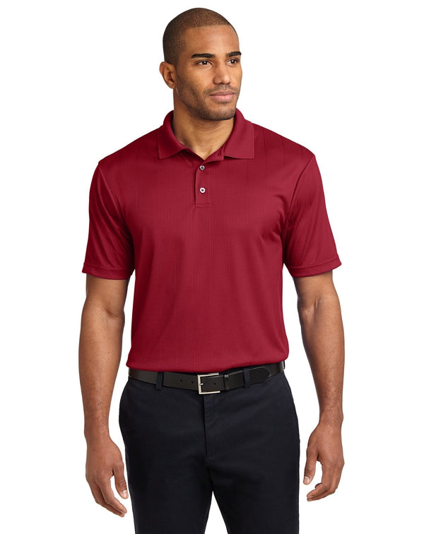 Port Authority® Performance Fine Jacquard Polo-Port Authority-Pacific Brandwear