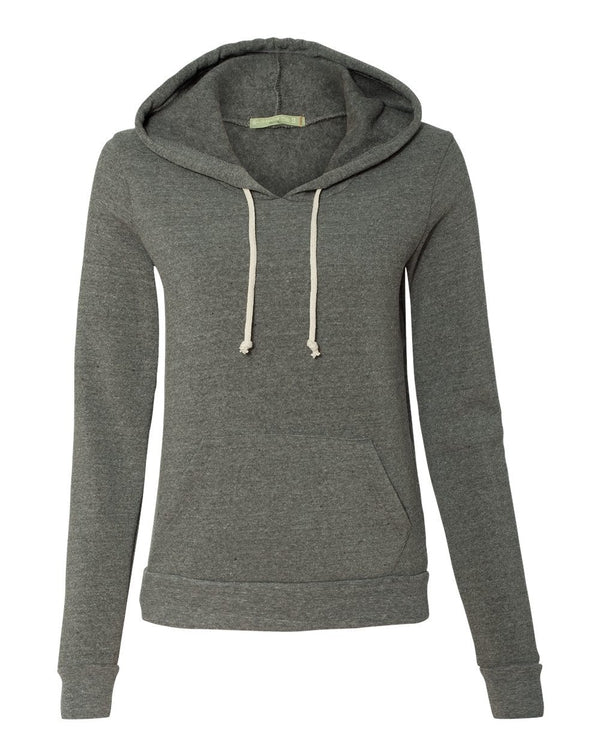 Women's Athletics Eco-Fleece Hooded Sweatshirt-Alternative Apparel-Pacific Brandwear