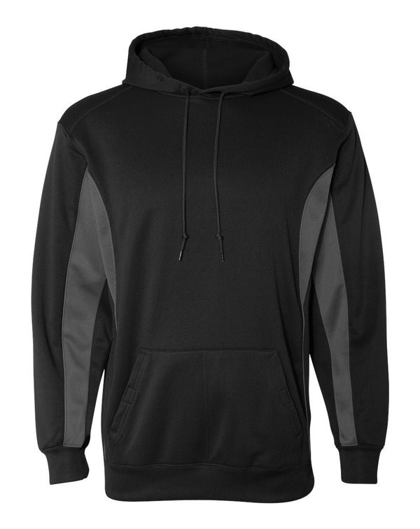 Drive Performance Fleece Hooded Sweatshirt-Badger-Pacific Brandwear