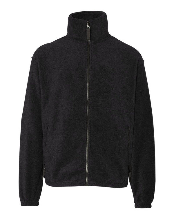 Youth Fleece Full-Zip Jacket-Sierra Pacific-Pacific Brandwear