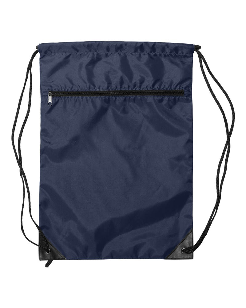 Zippered Drawstring Backpack-Liberty Bags-Pacific Brandwear
