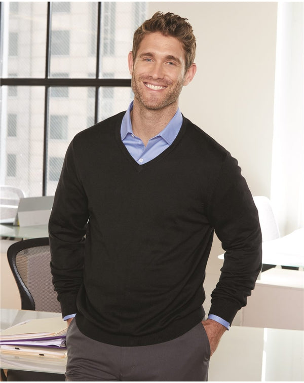 V-Neck Sweater-Van Heusen-Pacific Brandwear