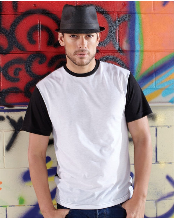 Adult Blackout Polyester Sublimation Tee-SubliVie-Pacific Brandwear