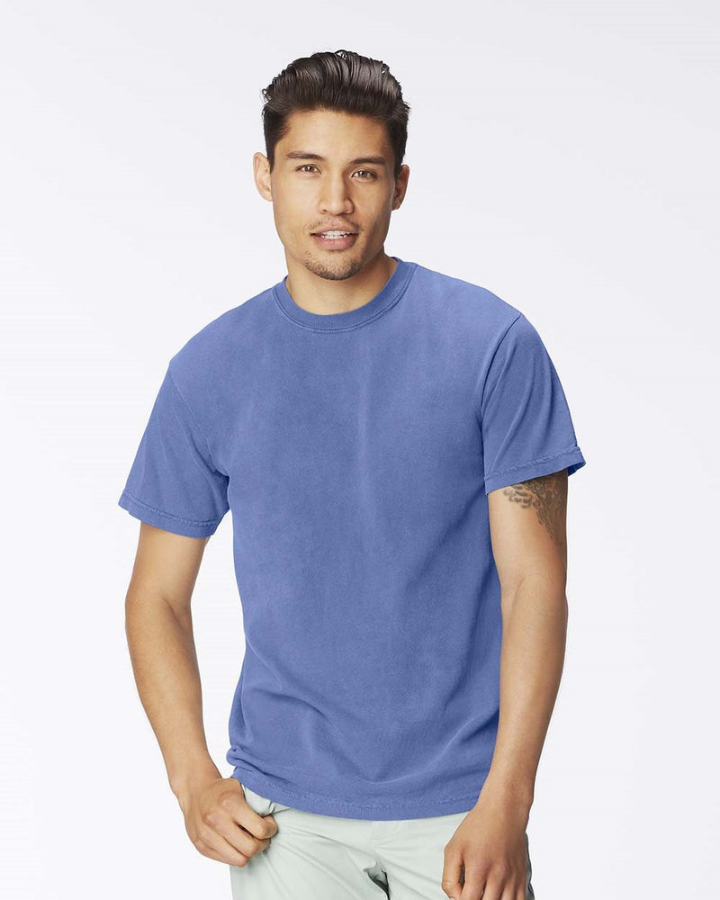 Garment-Dyed Heavyweight T-Shirt-Comfort Colors-Pacific Brandwear