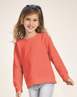 Garment-Dyed Youth Sweatshirt-Comfort Colors-Pacific Brandwear