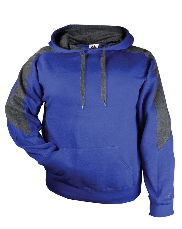 Saber Hooded Sweatshirt-Badger-Pacific Brandwear