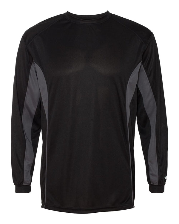 B-Core Drive Long sleeve T-Shirt-Badger-Pacific Brandwear