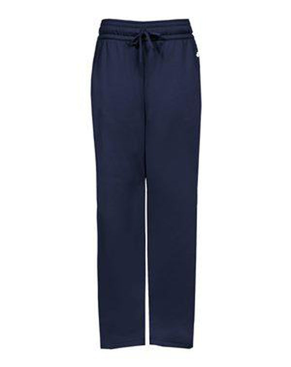Women's Performance Fleece Pants-Badger-Pacific Brandwear