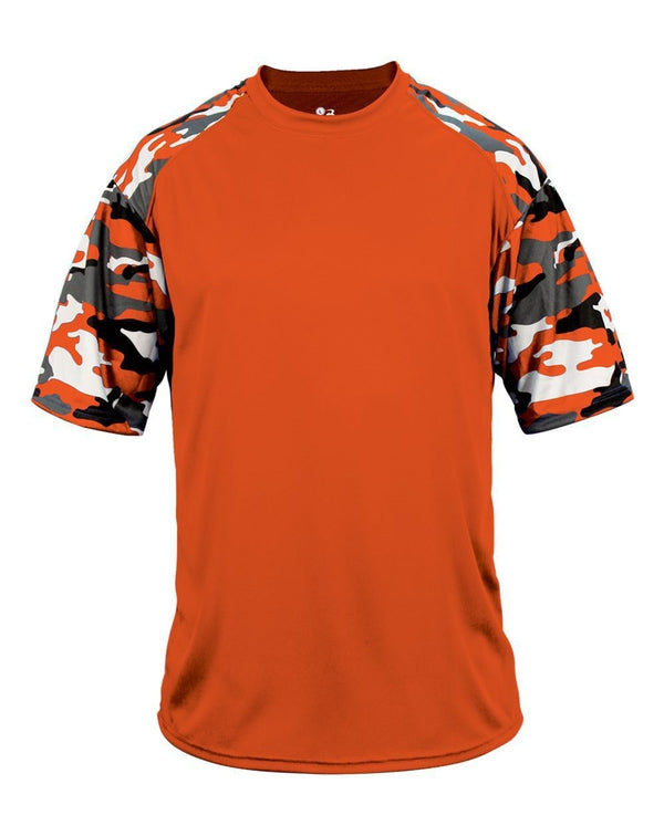 Youth Camo Sport T-Shirt-Badger-Pacific Brandwear
