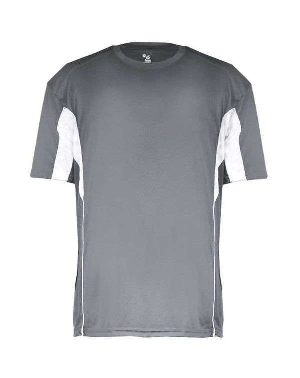 Youth B-Core Drive Short sleeve T-Shirt-Badger-Pacific Brandwear