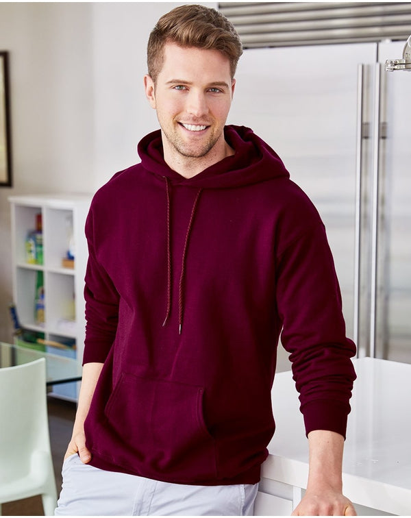 Ultimate Cotton Hooded SweatShirt-Hanes-Pacific Brandwear