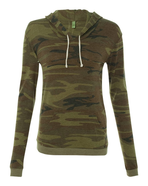 Women's Eco-Jersey Classic Pullover Hoodie-Alternative Apparel-Pacific Brandwear
