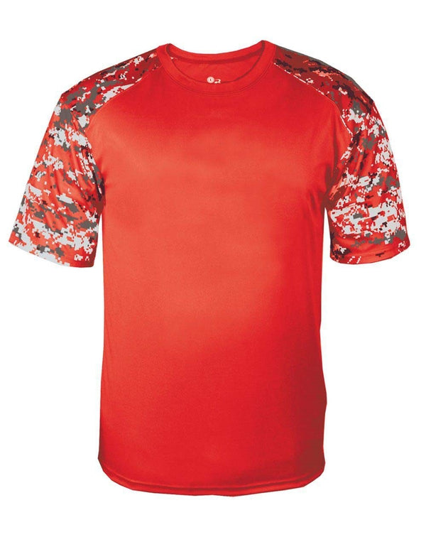 Youth Digital Camo Sport T-Shirt-Badger-Pacific Brandwear