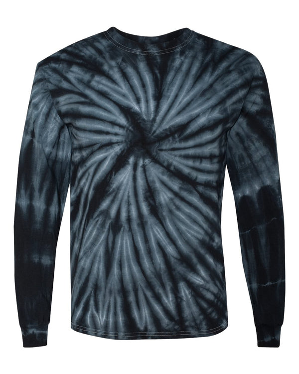 Cyclone Pinwheel Long sleeve T-Shirt-Dyenomite-Pacific Brandwear