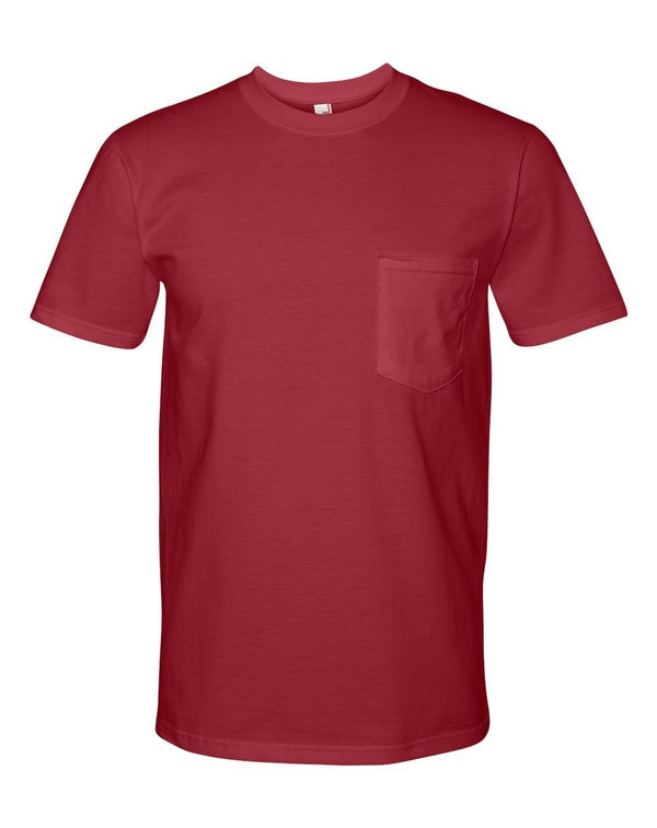 Midweight Pocket T-Shirt-Anvil-Pacific Brandwear