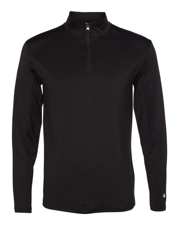 Lightweight Quarter-Zip Pullover-Badger-Pacific Brandwear