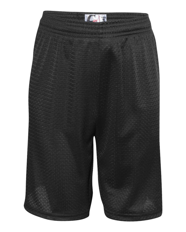 Youth Mesh Shorts-C2 Sport-Pacific Brandwear