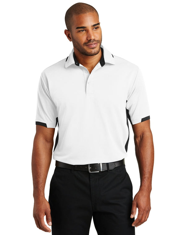 Port Authority® Dry Zone® Colorblock Ottoman Polo-Port Authority-Pacific Brandwear
