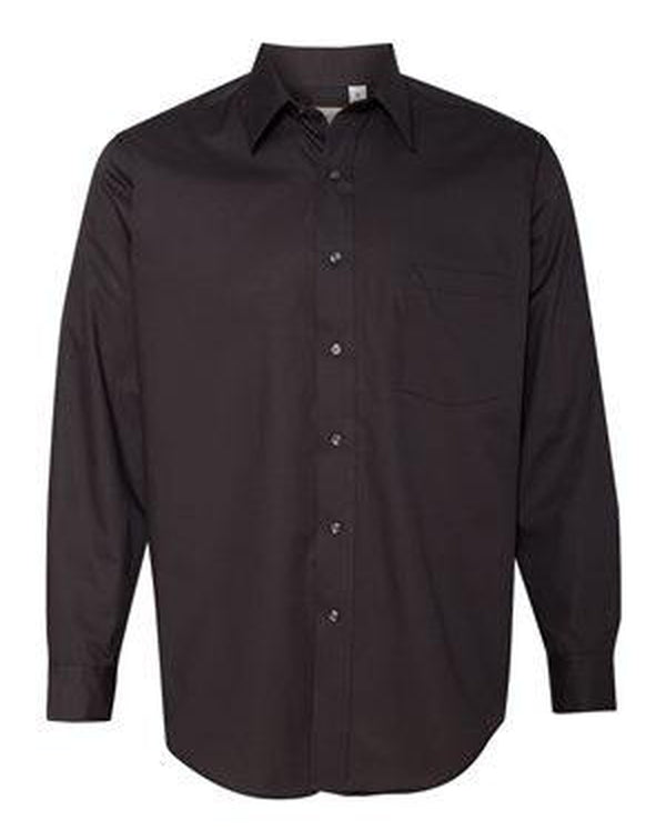 Broadcloth Long Sleeve Shirt-Van Heusen-Pacific Brandwear