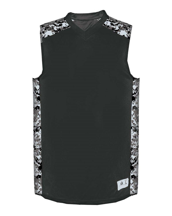 Youth Digital Camo B-Attack Tank Top-Badger-Pacific Brandwear