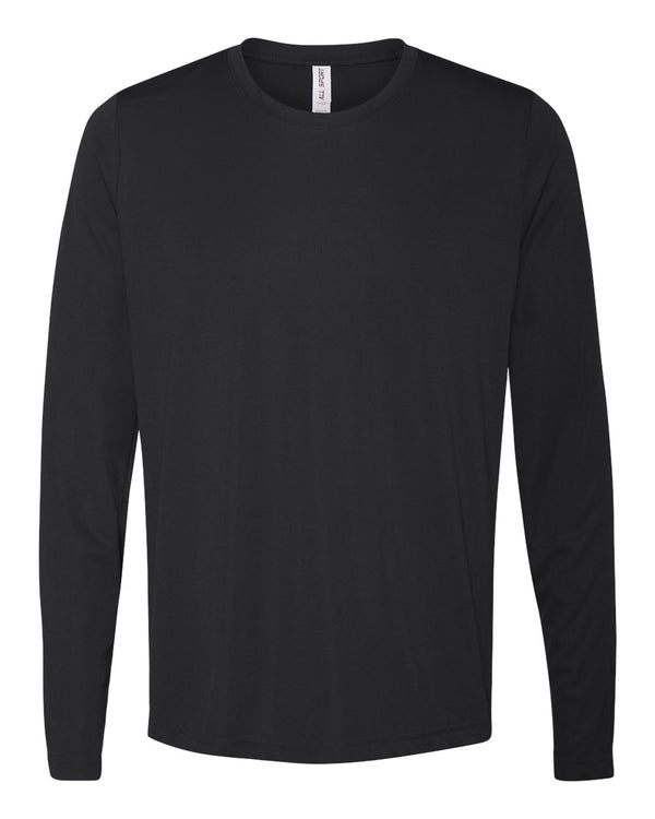 Performance Long sleeve T-Shirt-All Sport-Pacific Brandwear