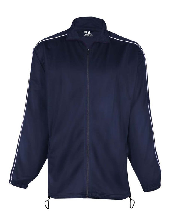 Brushed Tricot Razor Full-Zip Jacket-Badger-Pacific Brandwear