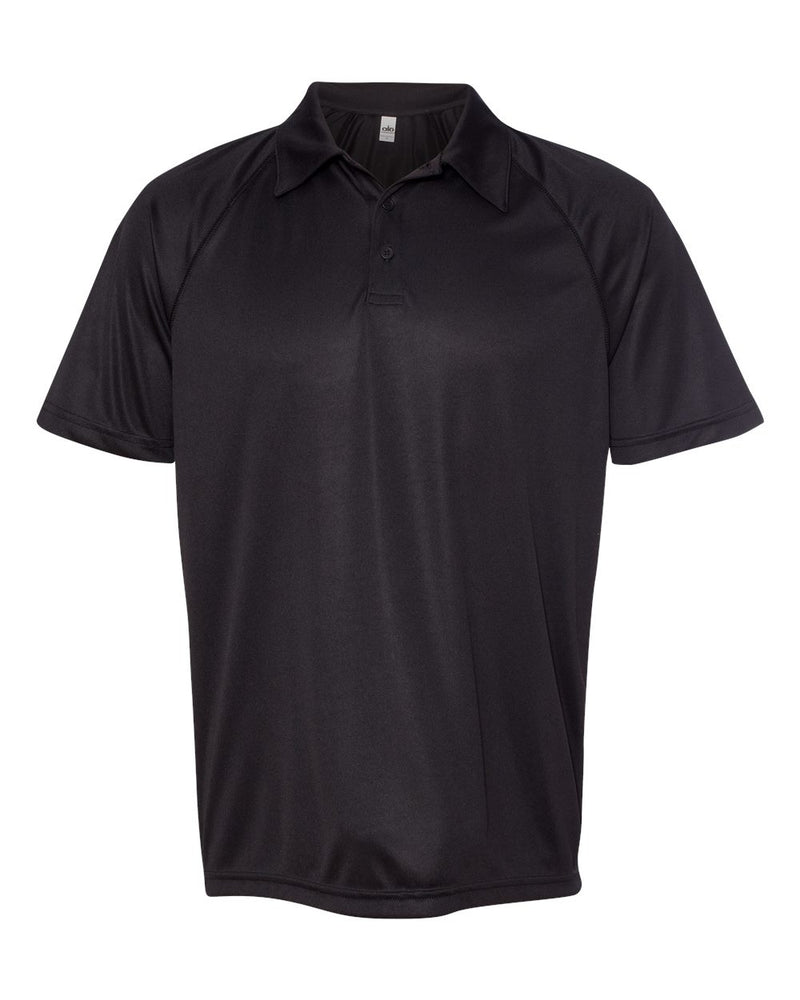 Performance 3-Button Raglan Sport Shirt-All Sport-Pacific Brandwear