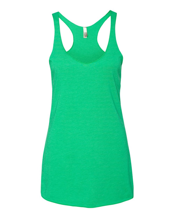 Women's Triblend Racerback Tank-Next Level-Pacific Brandwear