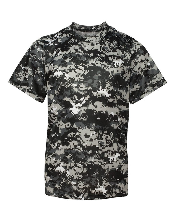 Youth Digital Camo T-Shirt-Badger-Pacific Brandwear