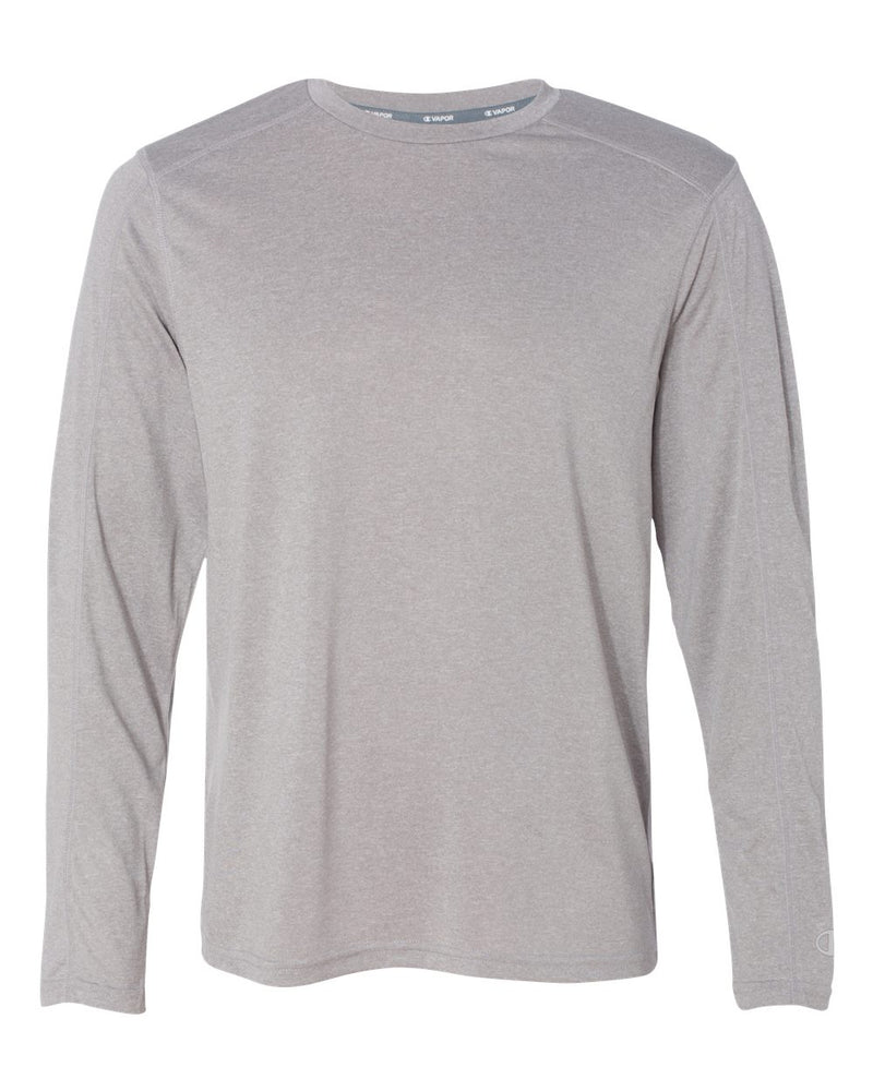Vapor Performance Heather Long sleeve T-Shirt-Champion-Pacific Brandwear