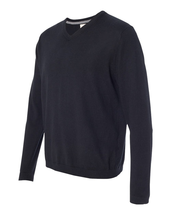 Weatherproof Vintage Cotton Cashmere V-Neck Sweater-Weatherproof-Pacific Brandwear