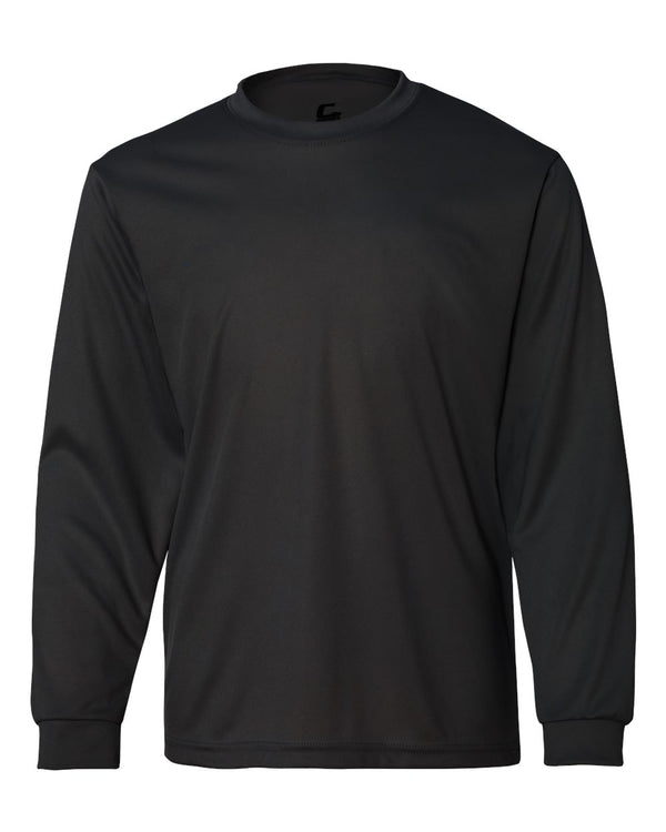 Youth Performance Long sleeve T-Shirt-C2 Sport-Pacific Brandwear