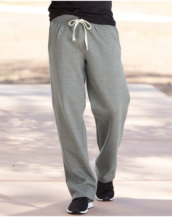 Cross Weave Open-Bottom Sweatpants-Weatherproof-Pacific Brandwear