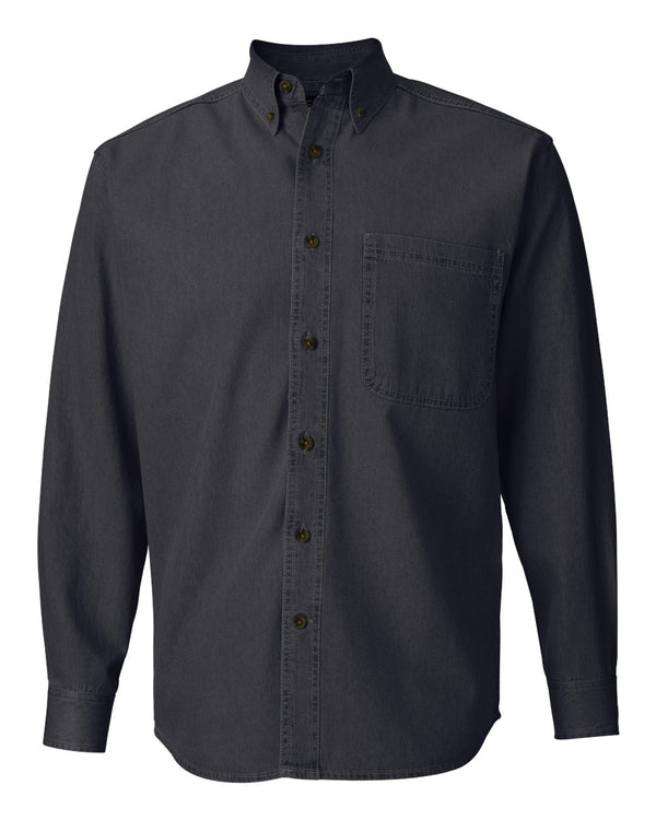 Long sleeve Denim Shirt-Sierra Pacific-Pacific Brandwear