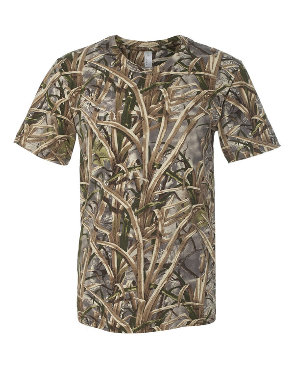 Adult Lynch Traditions Camo Tee-Code Five-Pacific Brandwear