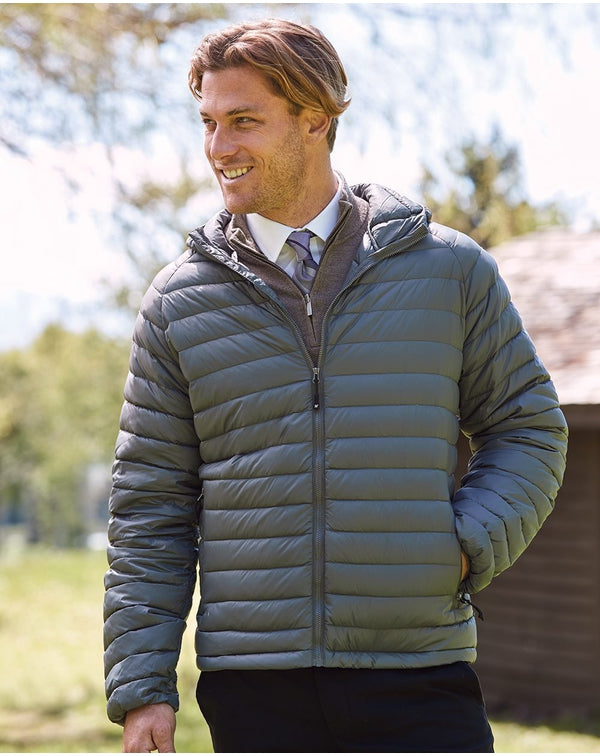 32 Degrees Hooded Packable Down Jacket-Weatherproof-Pacific Brandwear