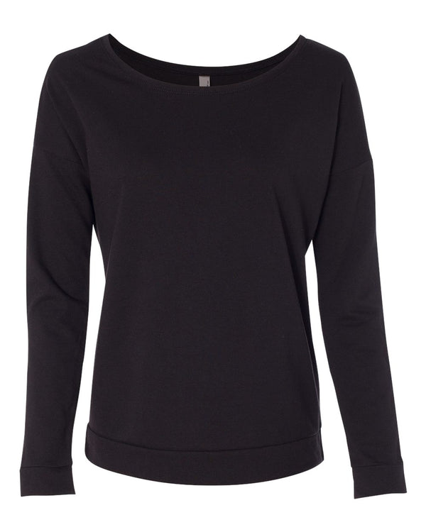 Women's Terry Long sleeve Scoop-Next Level-Pacific Brandwear
