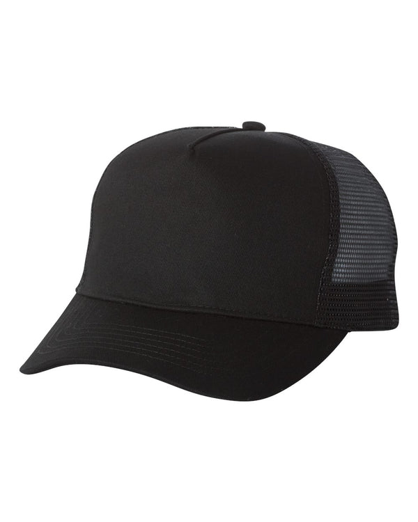 Recycled PET Mesh-Back Trucker Cap-Mega Cap-Pacific Brandwear