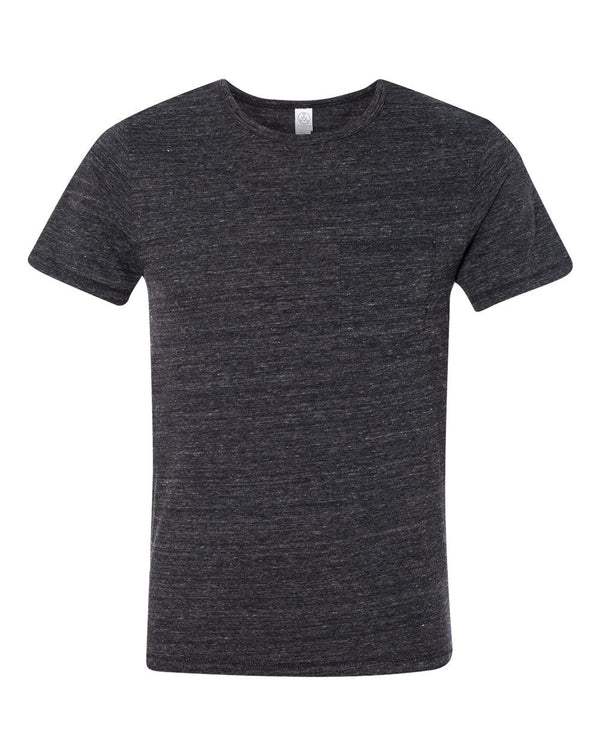 Eco Jersey Pocket T-Shirt-Alternative Apparel-Pacific Brandwear