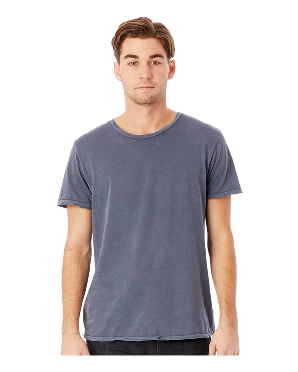 Heritage Garment Dyed Distressed T-Shirt-Alternative Apparel-Pacific Brandwear