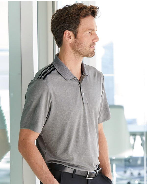 Adidas Climacool 3-Stripes Shoulder Polo-Adidas-Pacific Brandwear