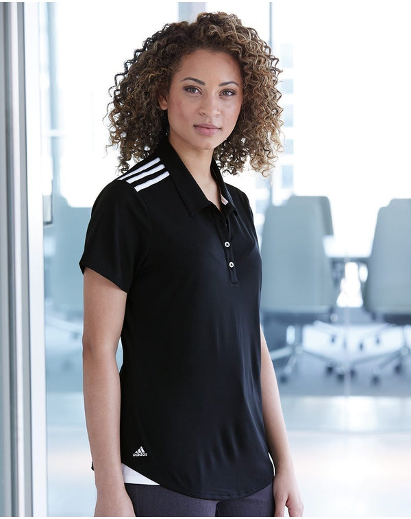 Adidas Women's Climacool 3-Stripes Shoulder Sport Shirt-Adidas-Pacific Brandwear