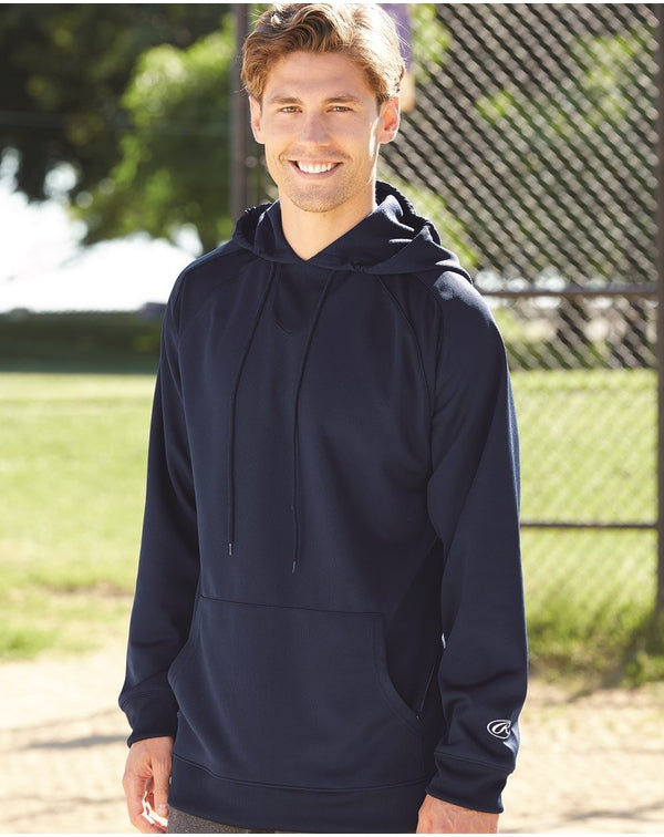 Mesh Fleece Hooded Sweatshirt-Rawlings-Pacific Brandwear