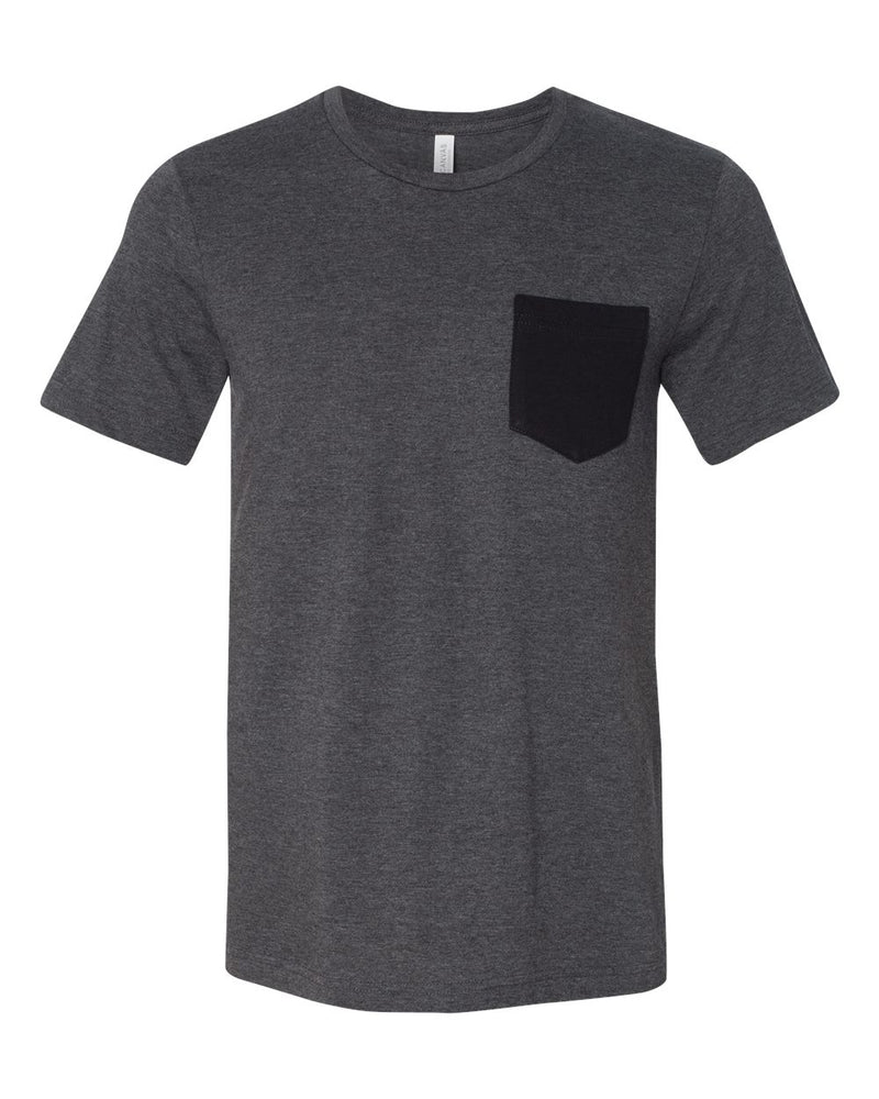 Jersey Pocket Tee-BELLA + CANVAS-Pacific Brandwear