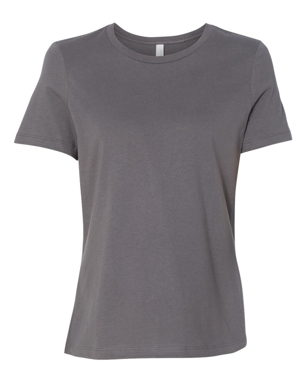 Women's Relaxed Jersey Tee-BELLA + CANVAS-Pacific Brandwear