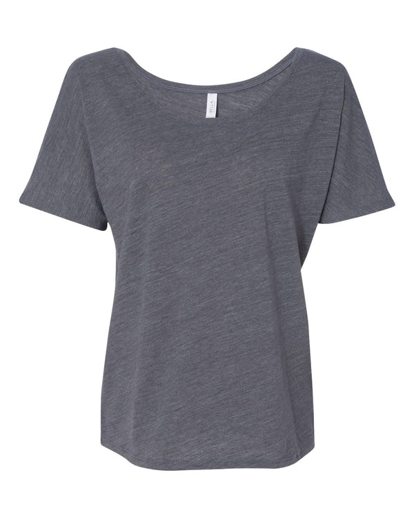 Women's Slouchy Tee-BELLA + CANVAS-Pacific Brandwear
