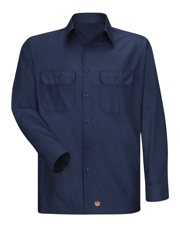 Red Kap Ripstop Long Sleeve Shirt-Red Kap-Pacific Brandwear