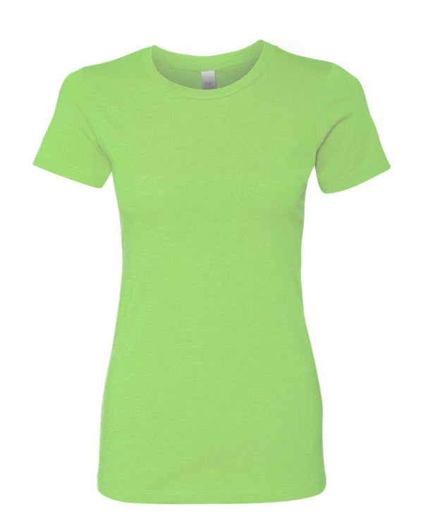 Women's CVC Short sleeve Crew-Next Level-Pacific Brandwear